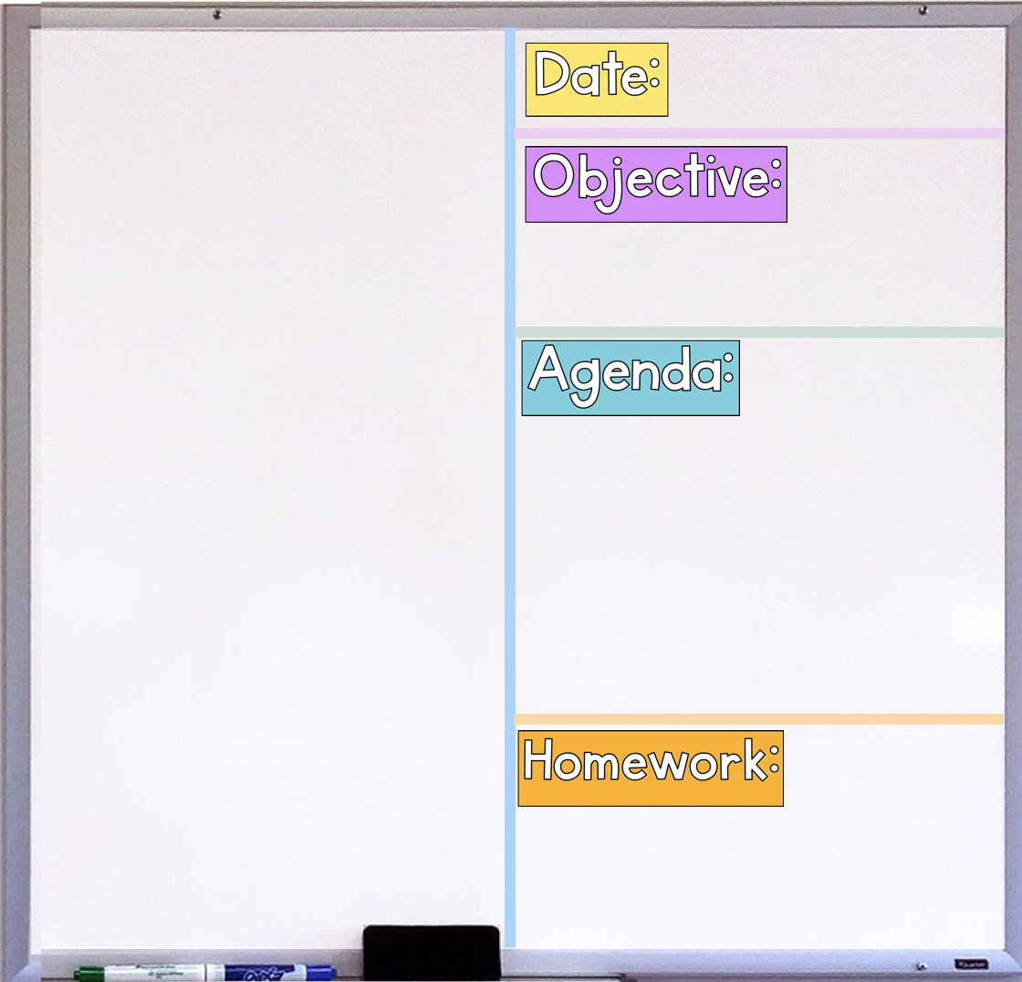 How to Set Up Your Whiteboard